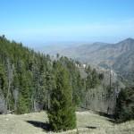 Overlooking the valley from the Iron Door