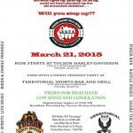 BACA Pima County 2015 Awareness Run Flyer