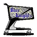Blue Knights Shopping Cart
