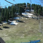 Snow on the hillside - 2