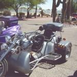 Unique bikes in the parking lot - 3